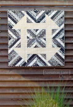 Churndash Court quilt pattern by Sassafras Lane Designs as seen at The Plaid Portico quilt block, quilt patterns, churndash court, court quilt