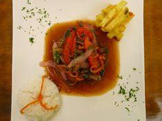 Lomo Saltado - peruvian beef stir-fry with chinese influences