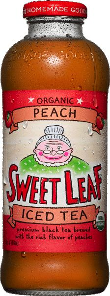 Sweet Leaf Tea - based in Austin, TX.