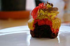 german flag cupcakes