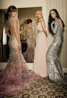 Wow. These dresses are gorgeous!