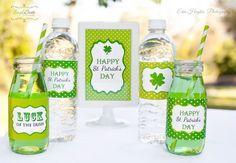 Free St. Patrick's Day party printables! #stpatricksday #printables