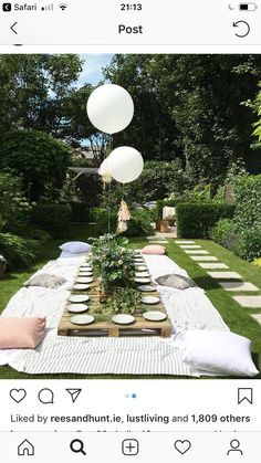 Garden party table s