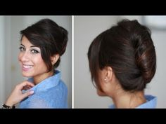 French Twist Hair Tutorial