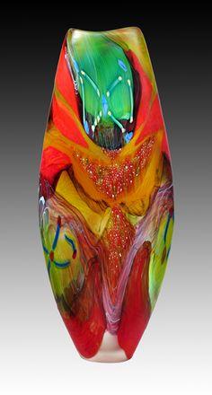 glass vessel by Noel Hart