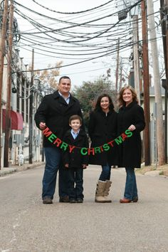 Christmas family photo ideas...