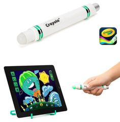 Create a painting without even touching your tablet with the Crayola Light Market.