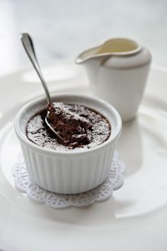 Recipe for chocolate pot with ginger by Simon Hopkinson
