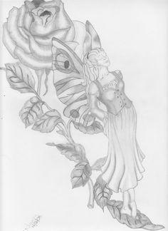 dark fairy drawings in pencil Dark Fairy Drawings In Pencil