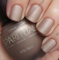WANT! matte nail polish