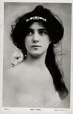 Evelyn Nesbit (Mrs Thaw)
