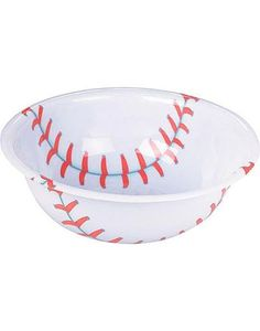 Plastic Baseball Bowl