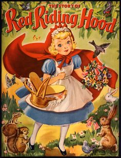 """Merrill 1942 """"THE STORY OF LITTLE RED RIDING HOOD"""""""