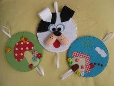craft, artesanato, babiessew, filzschmuck, cds, fieltro, galit, diy, feltro