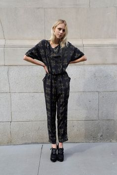 #Cute jumpsuit  Jumpsuits #2dayslook #Jumpsuits style #Jumpsuitsfashion  www.2dayslook.com