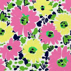Spring 2012 - Doodle Bug Daisy - would look cute on wall in little girl's room