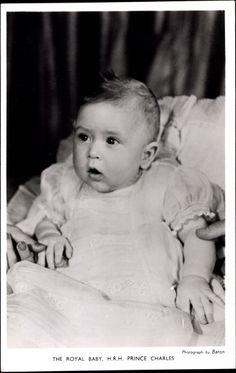 HRH Prince Charles of Edinburgh, future Prince of Wales.  Now we know who Prince George looks like.