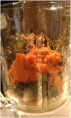 Pumpkin Green Monster Smoothie