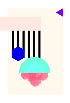Alex Proba's Poster a Day project, on sightunseen.com