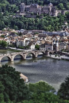 Heidelberg, Germany, one of the most scenic cities in Germany. I love this city.