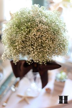 Baby's breath bouquet.