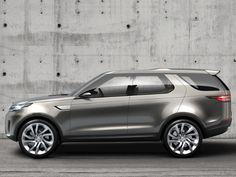#LandRover Discovery Vision Concept | Land Rover Nieuws