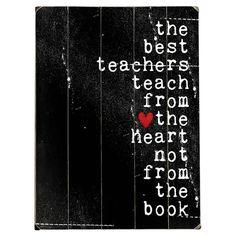 Best Teachers Wall D