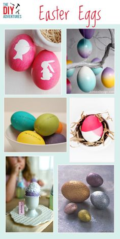 DIY Easter Eggs - 6 fun projects