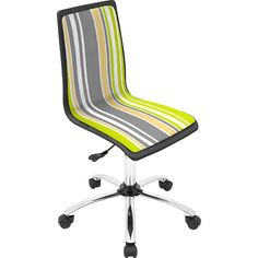 LumiSource Printed Strip Computer Chair (@ Meijer.com)    #MeijerDormDecor #DormDecor