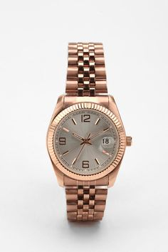 Rose Gold Menswear Watch