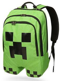 Coolest backpacks for older kids: minecraft backpack