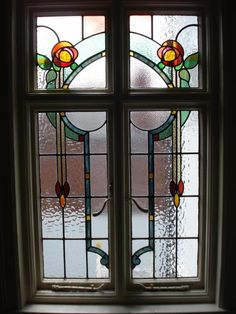 Multiple In-Situ Repairs Were Carried Out On This Fantastic Antique Leaded Window Using Matching Antique Glass - Holme Valley Stained Glass photo gallery