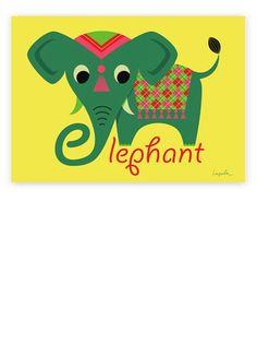 Elephant Poster (50x70cm)