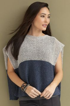 Donna Poncho Top in NINA http://tahkistacycharles.com/t/pattern_single?products_id=2215