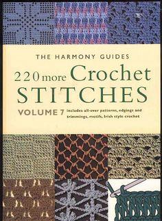 220, picasa web, books, harmoni guid, svetlana safonova, crochet stitches, crochet pattern, web album, crochetstitch
