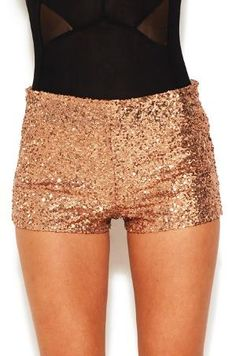 Mini Sequin Shorts- God I love sequins