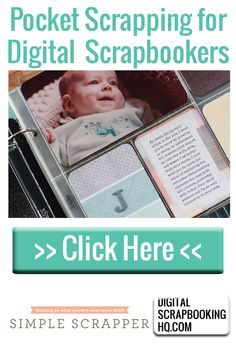 Jennifer Wilson shares 3 pocket scrapping approaches for digital scrapbookers at Digital Scrapbooking HQ.