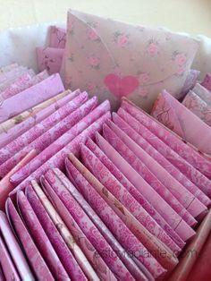 Detalles para bodas - pañuelos de papel con funda