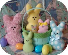 In The Hoop - Softies - Toys - Marshmallow Bunnies - Embroidery Garden (Powered by CubeCart)