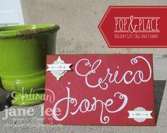 Pop & Place Envelope - AWW Nov | Jane Lee http://janeleescards.blogspot.com