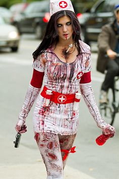Zombie Nurse | #halloween #costume #zombie #nurse #scary
