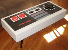 Nintendo Controller Coffee Table FUNCTIONAL by BohemianWorkbench