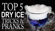 """5 Awesome Tricks & Pranks With Dry Ice!  You don't have to wait for halloween to play with dry ice.  Here are 5 """"non-halloween"""" ways to use dry ice for tricks & pranks.  Where in the world do you get dry ice?  http://dryicedirectory.com  """"How to Make Dry Ice With A Fire Extinguisher"""": http://www.youtube.com/watch?v=tLNHDxd6nDc  For more project videos, check out: http://www.thekingofrandom.com"""