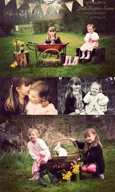 I'm thinking Easter pictures 2013 something like this... where can we get a bunny???