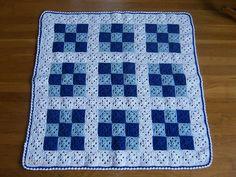 Crocheted blanket