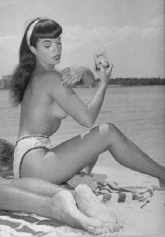 who's got this Betty Page photo?