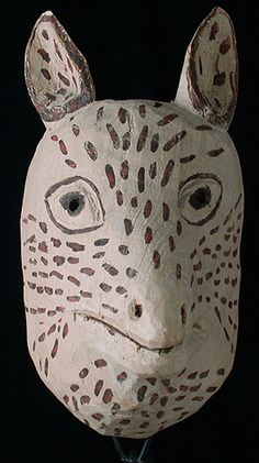 Peruvian Masks - Deer mask from Peru or Chile