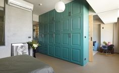 modern apartment MKW 7 Color Enhanced Minimalism Showcased by Charming Taiwan Apartment