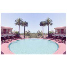 pink pool.