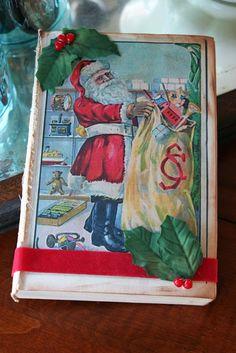 Altered Christmas Books